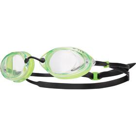 TYR Tracer Racing Okulary pływackie Mężczyźni zielony/czarny